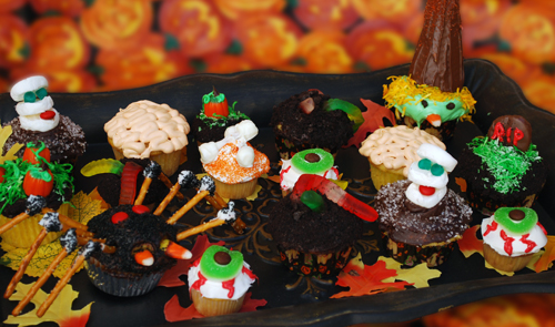 Halloween Cupcake Decorating Tips for Dummies from Family Spice