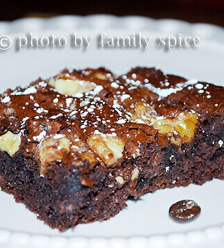 Outrageous Coffee Brownies