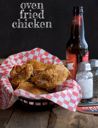Oven Fried Chicken: Skimp on Calories, Not Taste!