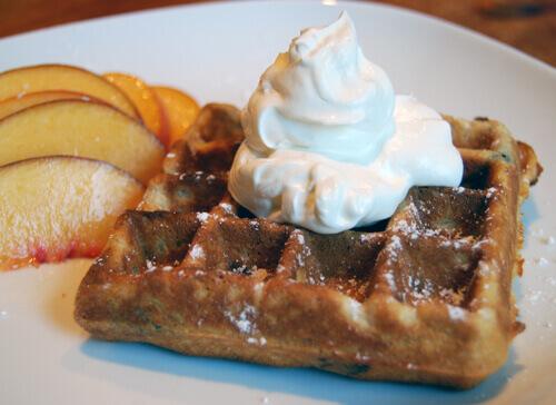 Chocolate Chip Belgium Waffles by FamilySpice.com