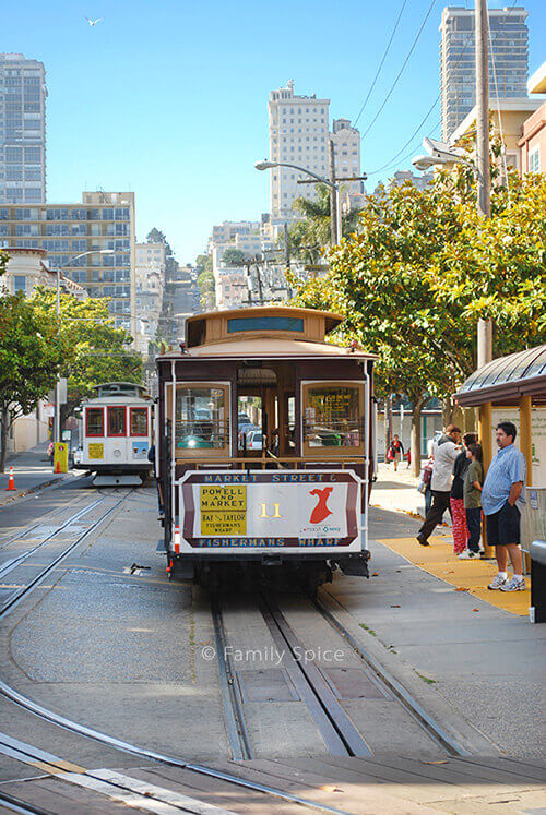 Cable Car in San Francisco by FamilySpice.com
