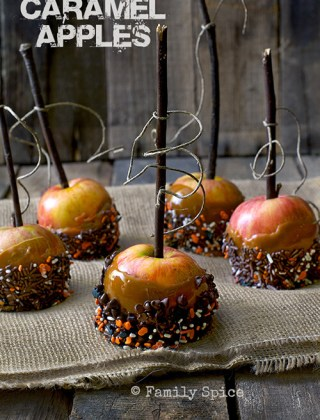 Caramel Apples to Celebrate Fall