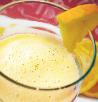 Celebrate Morning with an Orange Cream Smoothie