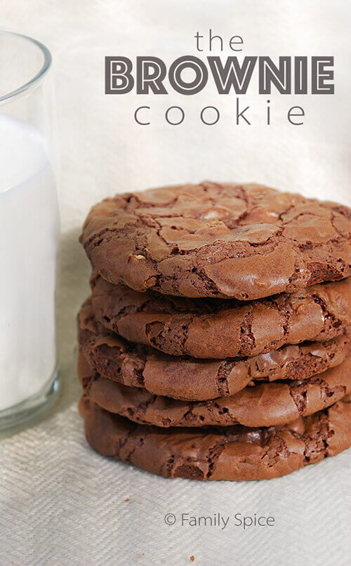 Chocolate Brownie Cookies by FamilySpice.com