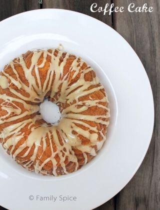 BB: Sour Cream Coffee Cake