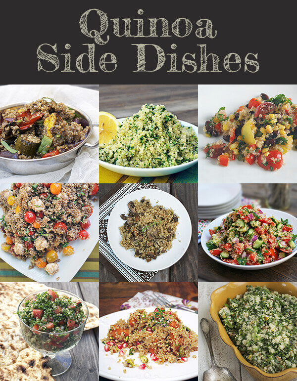 Fabulous Quinoa Side Dishes for the Family Table by FamilySpice.com