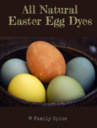 Easter Eggs Go Green