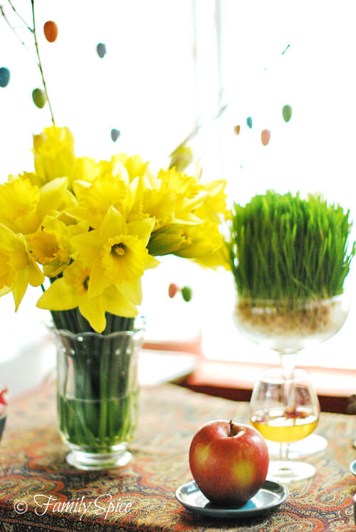 Spring, the Haft Seen and the Persian New Year by FamilySpice.com