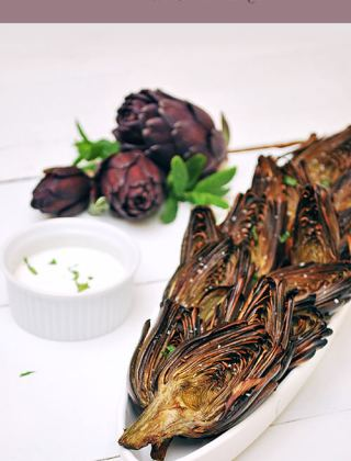 Tequila Lime Artichokes