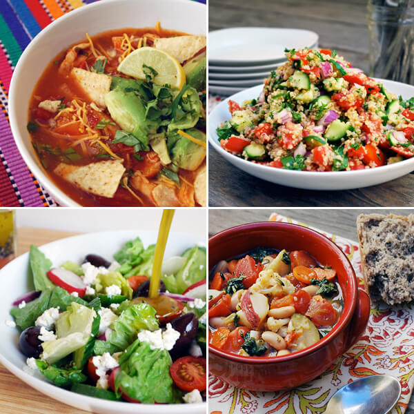Lunch Recipes for Mother's Day