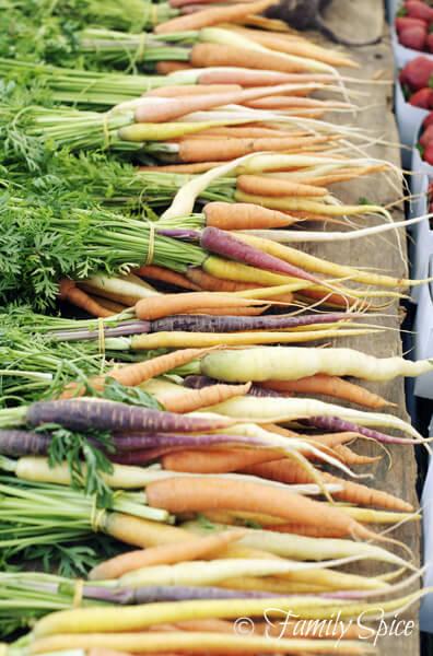Hillcrest Farmer's Market: Baby Jeweled Carrots