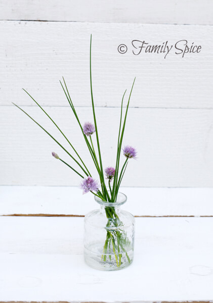 Chives & blossoms