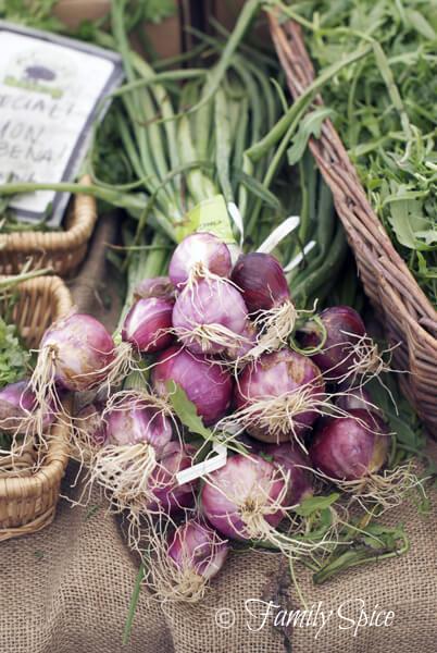 Hillcrest Farmer's Market: Purple Onions