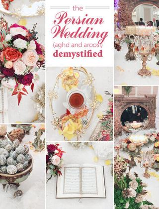 The Persian Wedding Ceremony (Aghd) Demystified