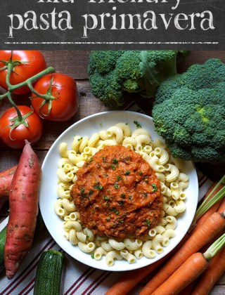 How to Get Kids to Eat Veggies: Kid Friendly Pasta Primavera