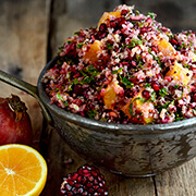 Cranberry Orange Quinoa Salad by FamilySpice.com
