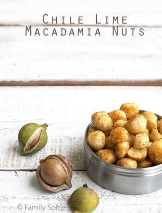 Lip Smacking Chile Lime Macadamia Nuts