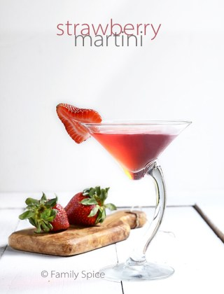 Strawberry Vodka for a Strawberry Martini