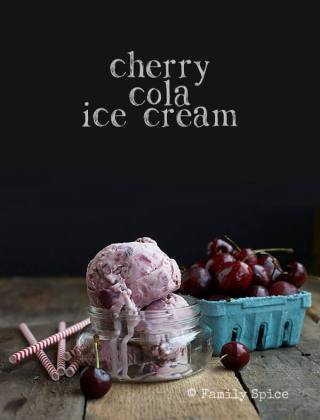 Cherry Cola Ice Cream for the Dog Days of Summer
