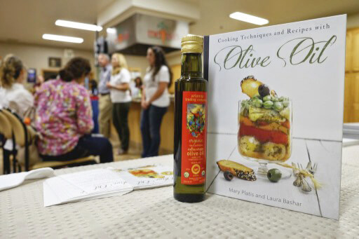 olive oil cookbook: Cooking Techniques and Recipes with Olive Oil by Mary Platis and Laura Bashar   Two Extra Virgins $26.95