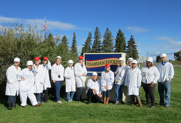 Idahoan tour during Idaho Potato Harvest Tour 2014 #IdahoHarvest by FamilySpice.com