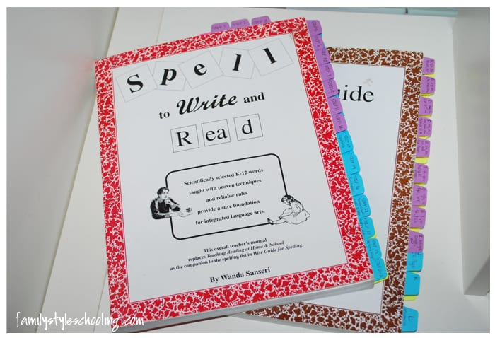 Spell to Write and Read spelling curriculum