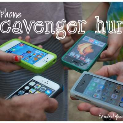 iPhone Scavenger Hunt – Free Fun