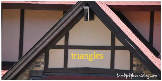 math outside finding triangles