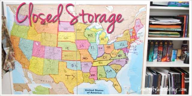 school room storage must haves closed storage