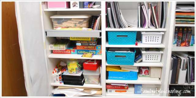 school room storage must haves hidden storage