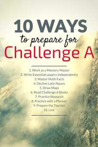 10 ways to prepare for Challenge A