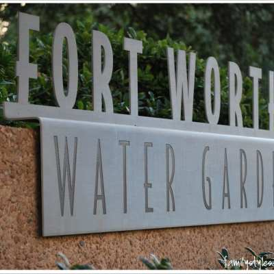Don't Miss Experiencing the Water Gardens in Downtown Fort Worth