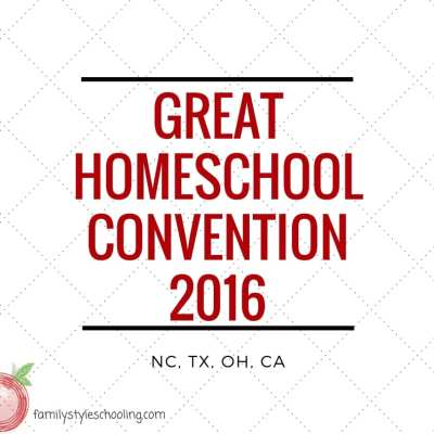 Great Homeschool Convention 2016