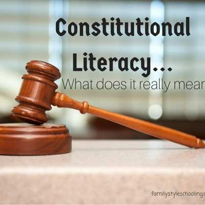 Constitutional Literacy…What does it really mean?
