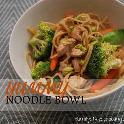 A Yummy Noodle Bowl You'll Absolutely Want to Make