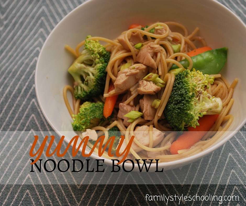 Yummy Noodle Bowl you will absolutely want to make