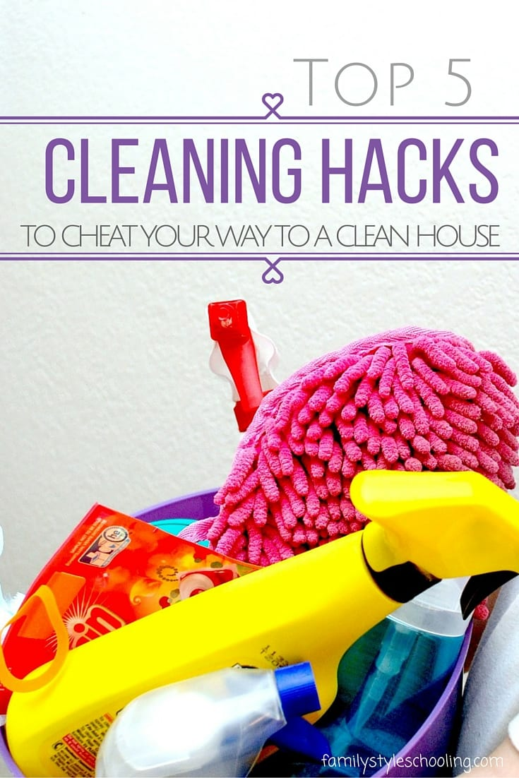 Tips and tricks for keeping your house clean.