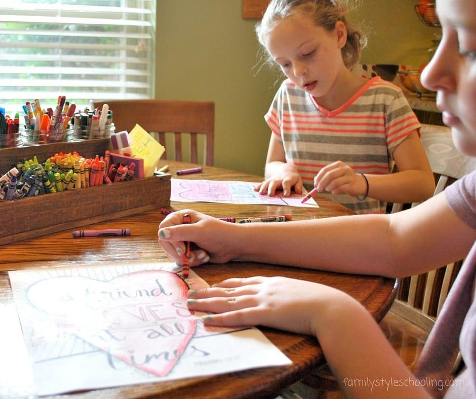 scripture coloring sheet