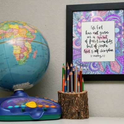 Inspired By My Friend and her Scripture Art Coloring Book