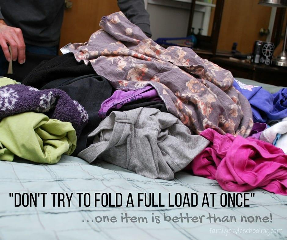Laundry tricks