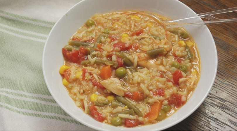 Veggie Chicken and Rice Soup (1)