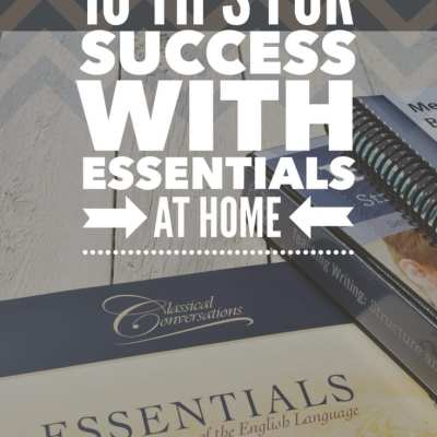 10 Tips for Success with Essentials at Home