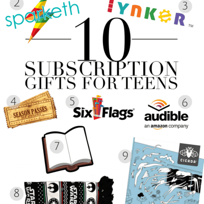 10 Subscription Gifts for Teens