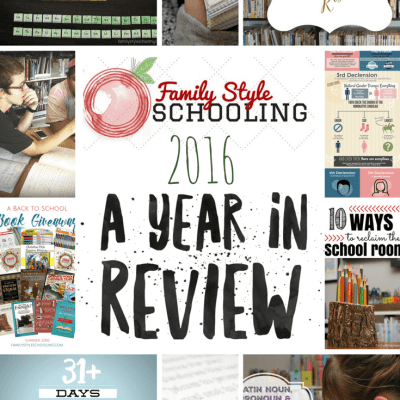 Family Style Schooling: A Year in Review