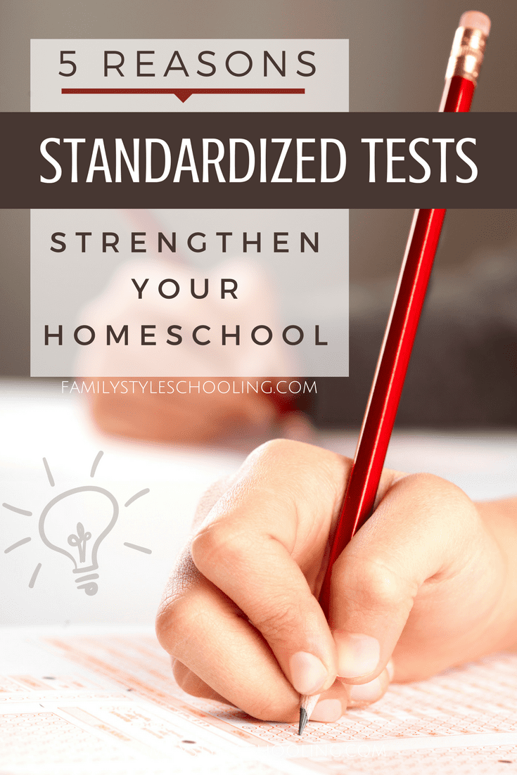 Homeschool Standardized Tests