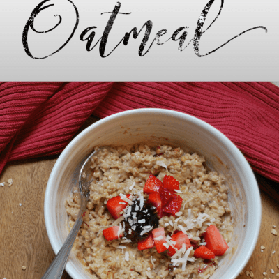 Get The Year Started Off Right with PB & J Oatmeal