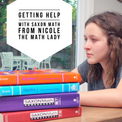 Getting Help With Saxon Math From Nicole the Math Lady