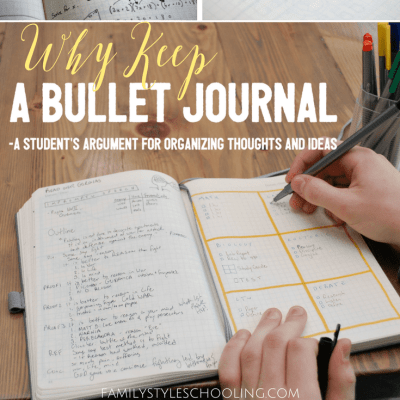 Why Keep a Bullet Journal? A Student's Argument For Organizing Thoughts and Ideas