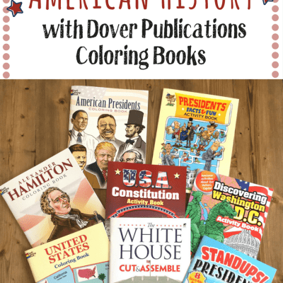 Enjoy Learning American History with Dover Publications Coloring Books