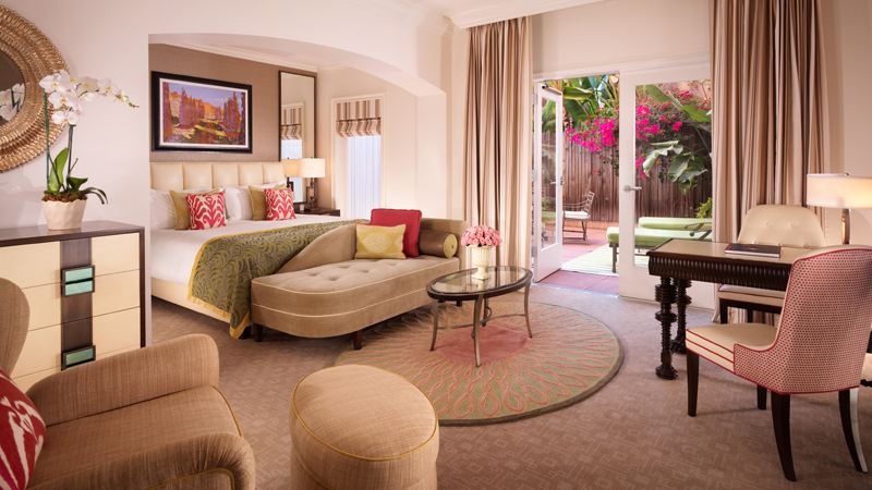 Beverly Hills Hotel room